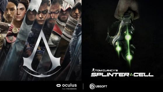 Assassin's Creed VR et Splinter Cell VR annoncés au Facebook Connect