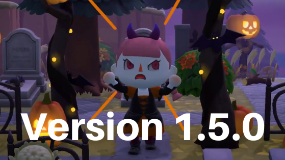 Mise à jour Halloween d'Animal Crossing 1.5.0, patch note en français
