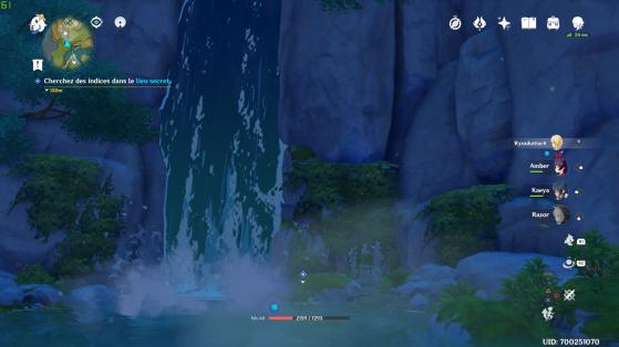 La fameuse cascade ! - Genshin Impact