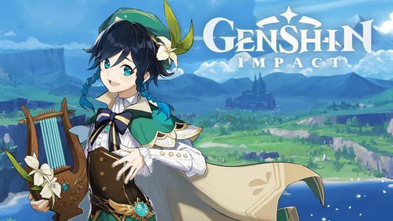 Genshin Impact : build Venti, armes et sets d'artefacts