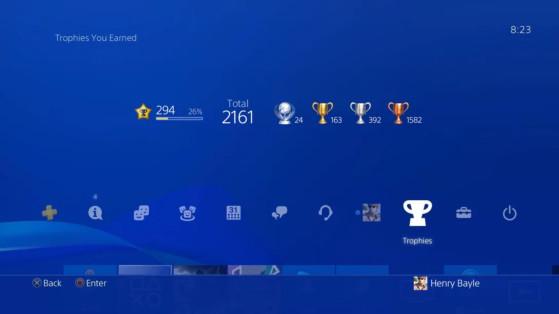 PS5 : Des changements du système de trophées arrivent