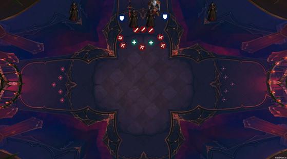 Placement du boss et du raid en Phase 2 - World of Warcraft