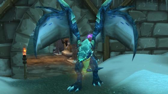 WoW Shadowlands : Skadi le Brutal a une chance de drop le Proto-drake bleu