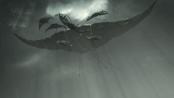 Le boss Roi de la Tempête - Demon's Souls