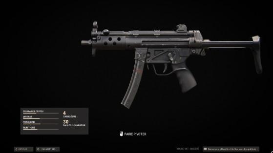 La MP5 de Black Ops Cold War se fait nerf