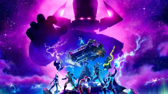 Fortnite: la date et l'heure de l'événement Galactus de la saison 4 révélées par un compte à rebours