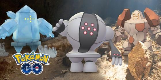 Les trois golems reviennent dans les raids de Pokémon GO