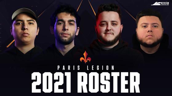 CDL 2021 : Paris Legion annonce enfin son roster pour la compétition, mais fait débat