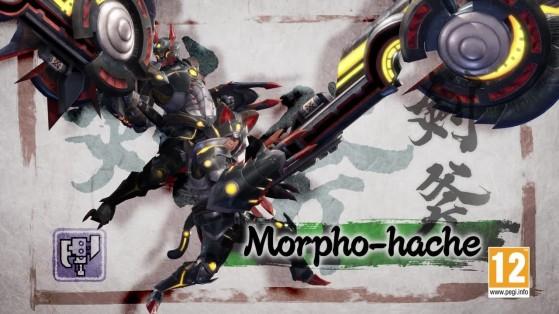 Morpho-hache Monster Hunter Rise, tutoriel, guide commandes, combos