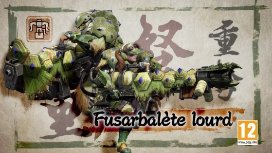 Fusarbalète lourd Monster Hunter Rise, tutoriel, guide commandes, combos