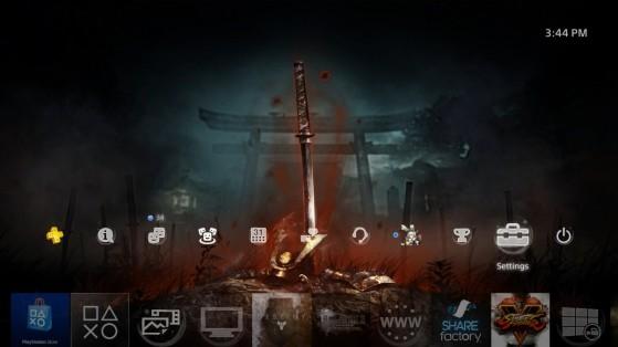 Thème PS4- Bloody Grave de Nioh - Nioh 2