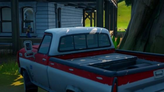 Fortnite : livrer un pick-up à la ferme de Tournesol, défi saison 5