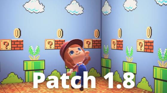 La mise à jour 1.8 est disponible sur Animal Crossing New Horizons