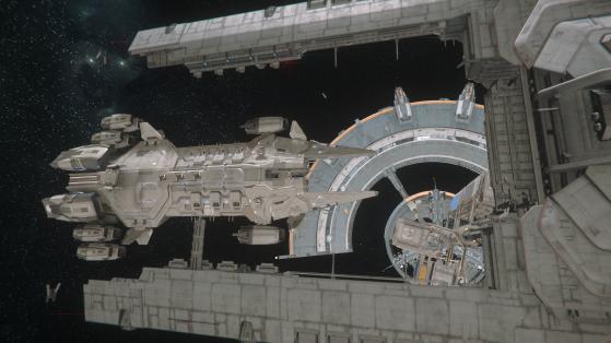 Visite possible du Javelin une fois docké. - Star Citizen