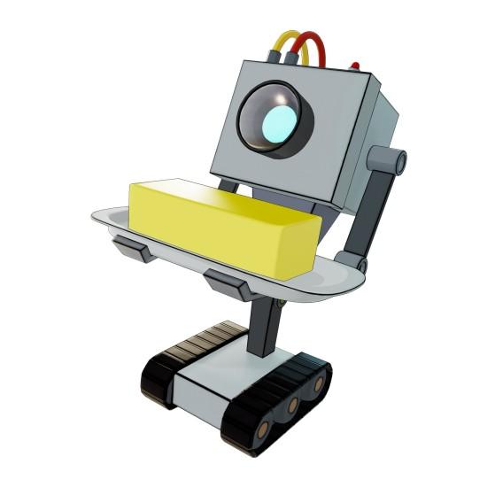 Robot à Beurre (accessoire de dos) - Fortnite : Battle royale