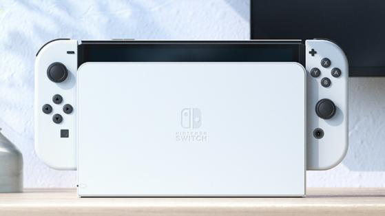 Nintendo Switch OLED : Il sera possible d'acheter le nouveau dock séparément