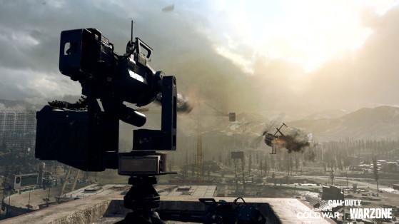 Comment avoir une tourelle automatique sur Warzone ?