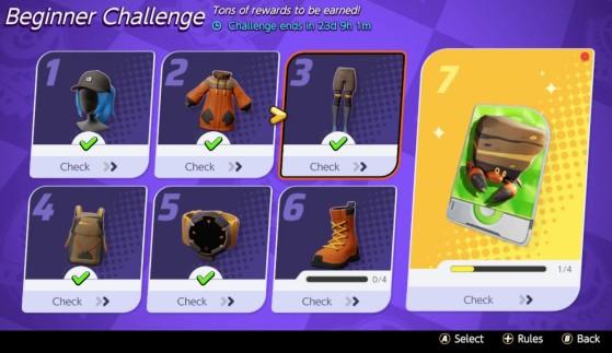 Les Challenges - Pokemon Unite