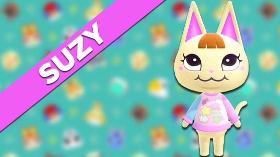 Suzy sur Animal Crossing New Horizons : tout savoir sur cet habitant