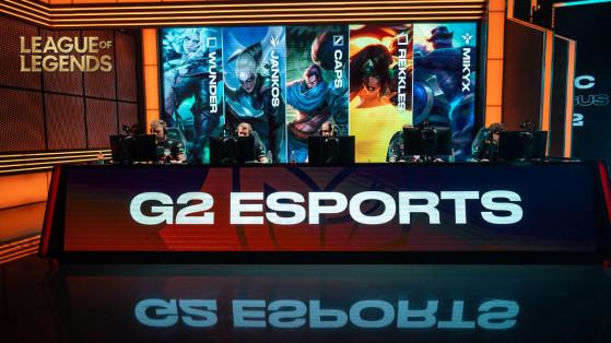LoL : G2 Esports aurait trouvé son futur toplaner pour 2022