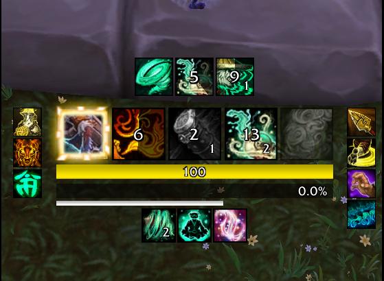 Prévisualisation du WeakAura - World of Warcraft