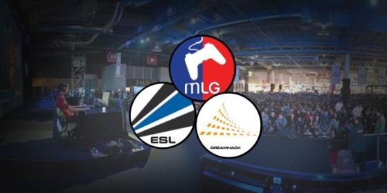 Partenariat ESL, DreamHack et MLG
