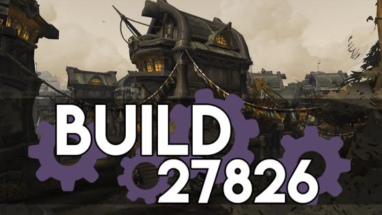 WoW BFA : Patch 8.1 : Build 27826
