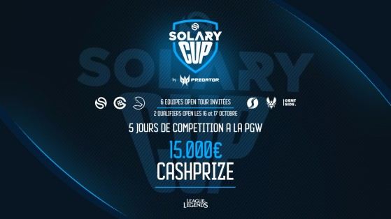 PGW : Tournoi Solary Cup LoL