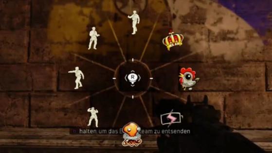 Black Ops 4 : emotes et sprays