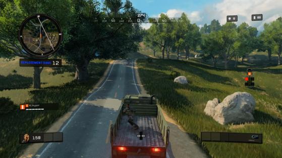 Camion ne rime pas du tout avec discrétion. - Call of Duty