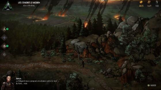 Le paysage en fond est magnifique, réellement. - Millenium