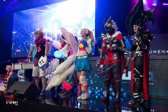 Quelques cosplays de la Lyon e-Sport 2018 - League of Legends