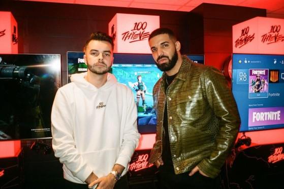 LoL : Drake et Scooter Braun deviennent les copropriétaires de 100 Thieves