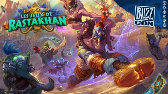 Hearthstone extension Les Jeux de Rastakhan : Rastakhan héros Chaman