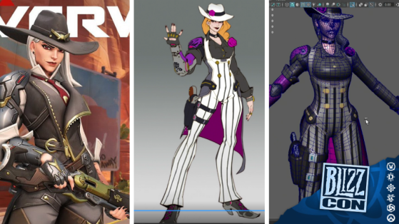 BlizzCon 2018 Overwatch : Comment Ashe a été conçue dans le jeu