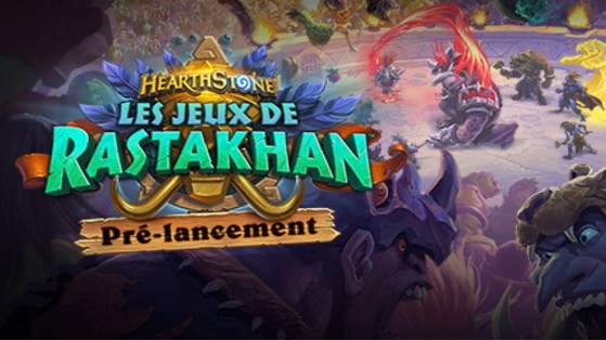 Hearthstone extension Les Jeux de Rastakhan: pre-release Fireside Gathering