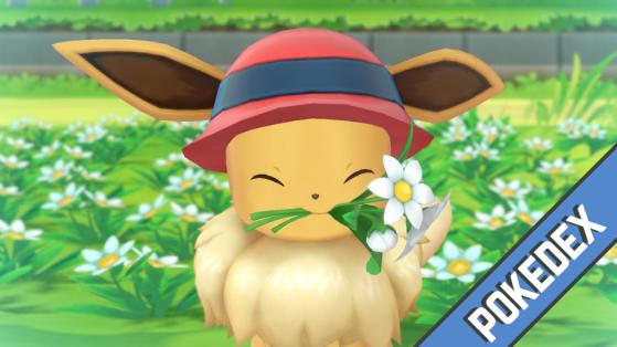 Soluce Pokémon Let's GO Pikachu Évoli - Pokédex complet par lieu