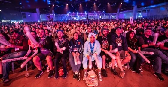 Le public des HGC à la BlizzCon ... - Heroes of the Storm