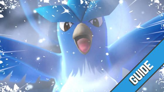 Pokemon Let's GO : Comment battre Artikodin et le capturer