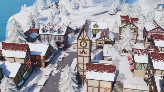 Fortnite : Happy Hamlet, nouvelle ville de la saison 7