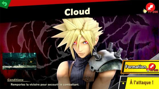 Débloquer Cloud, Super Smash Bros Ultimate : Guide