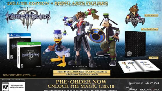 Kingdom Hearts 3 : Edition collector, édition limitée, bonus de précommande