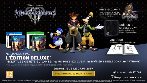 Kingdom Hearts 3 : Deluxe Edition - Kingdom Hearts 3