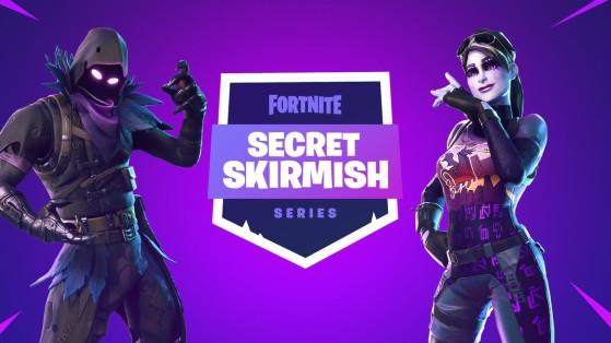 Fortnite : Secret Skirmish, tournoi, compétition