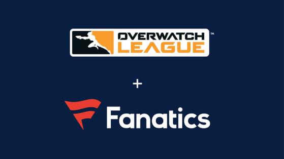 Overwatch League : nouveaux produits Blizzard Fanatics