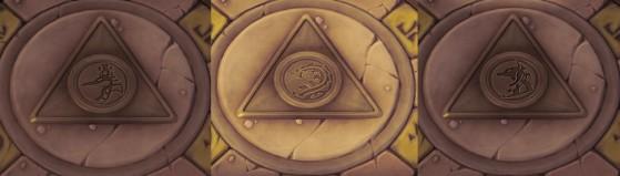 Les symboles de chaque temple permettent de les identifier rapidement. - Heroes of the Storm