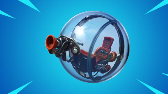Fortnite : bulle mobile, nouveau véhicule, boule de hamster