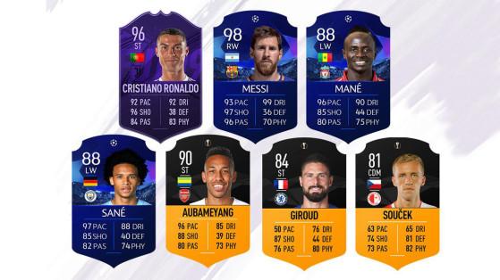 FUT 19 : MOTM, Ronaldo, Messi, Sané... man of the match