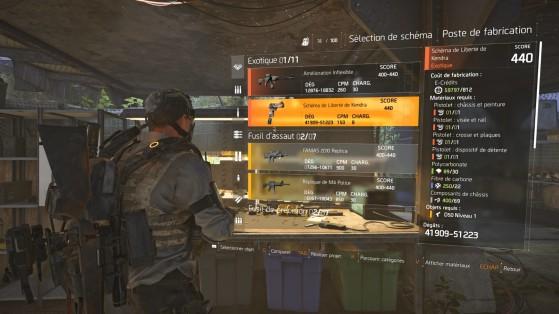 Guide The Division 2 : Armes exotiques, meilleures armes, liste