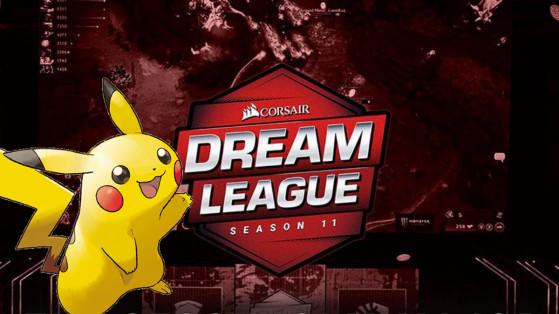 Pokemon GO : collaboration Dreamleague Dota, major, Suède